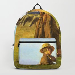 Jozef Chelmonski - Cowherd - Digital Remastered Edition Backpack