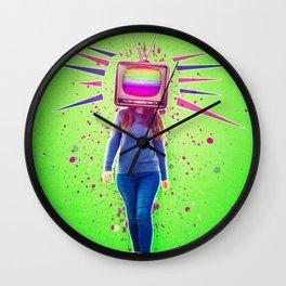 brainwashing Wall Clock