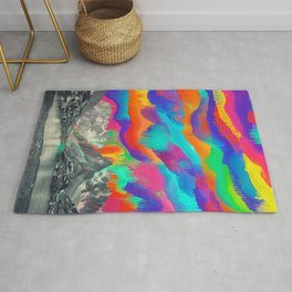 Skyfall, Melting Northern Lights Rug