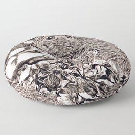 Rustic Style - prairie dog Floor Pillow