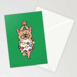 French Bulldog Merry Christmas Stationery Cards