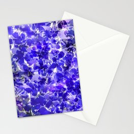 Royal Blue Delphiniums Stationery Cards