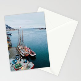 Edge of the World in Tromso Stationery Cards