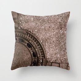 Street Design Throw Pillow