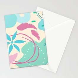 Abstract Pattern Modern Art 6 Stationery Cards