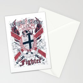 Royal Class Fighter Stationery Cards