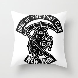 Sons of the Foot Clan Throw Pillow