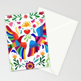 embroidery mexican floral  Stationery Cards