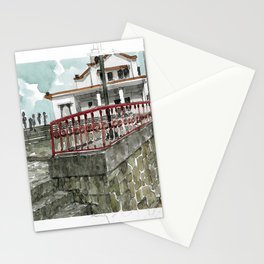 urban watercolor - Colombia Stationery Cards