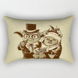 a (very) long time ago Rectangular Pillow