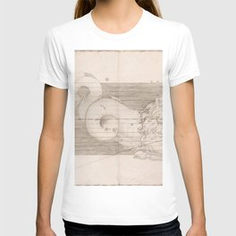 Johann Bayer - Uranometria / Measuring the Heavens (1661) - 29 Capricorn T-shirt