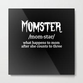 Halloween Momster Metal Print