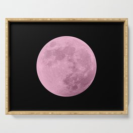 PINK MOON // BLACK SKY Serving Tray