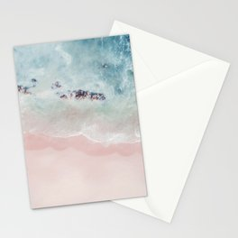 Ocean Pink Blush Stationery Cards