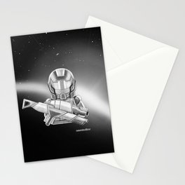 The Commander Stationery Cards