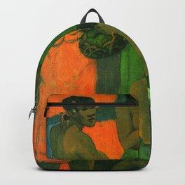 "Paul Gauguin ""Women on the Seashore (Motherhood I)"" Backpack"