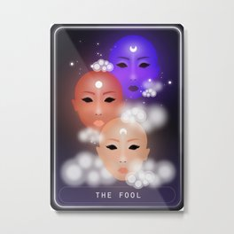 The Fool Metal Print