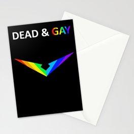 Paladin V Dead & Gay Light Text Stationery Cards