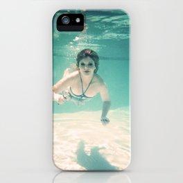 Underwater Detective iPhone Case
