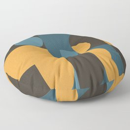 Information & Statement Geometric Floor Pillow