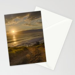 Watchin' the sun go down Stationery Cards