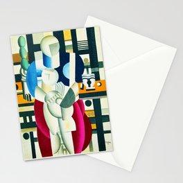Mother and child (Femme et enfant) by Fernand Léger Stationery Cards
