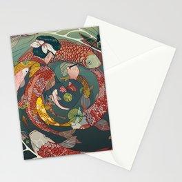 Ukiyo-e tale: The creative circle Stationery Cards