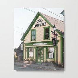 Mulholland Market, Lubec Metal Print
