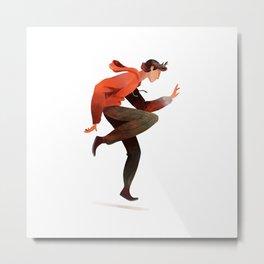 Dancing Boy Metal Print
