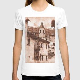 Scanno, an ancient italian village T-shirt