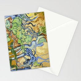 Tree roots by Vincent van Gogh, 1890 Stationery Cards