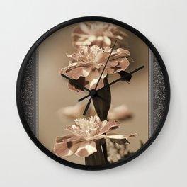 French Marigold named Durango Bolero Wall Clock