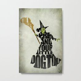 The Wicked Witch Of The West Metal Print