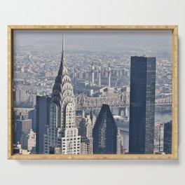 Chrysler Building New York Serving Tray