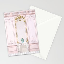 French Apartment Diorama Stationery Cards