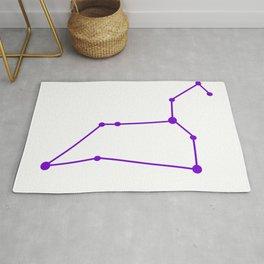 Leo (Purple & White) Rug