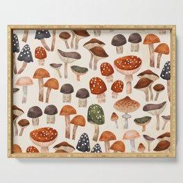 Mushrooms Serving Tray