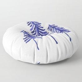 Pine Trees – Navy Floor Pillow