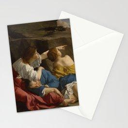 Orazio Gentileschi renascence art Stationery Cards