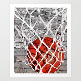 Basketball Art Kunstdrucke