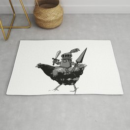 Unconventional Knight Rug