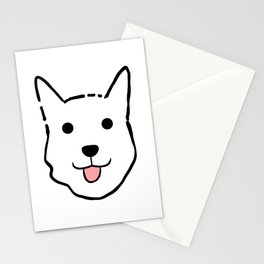 Malachi the Huskimo Dog Stationery Cards