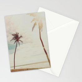 Palms and Simplicity Stationery Cards