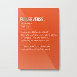 Fullerverse Metal Print