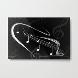 DT MUSIC 4 Metal Print