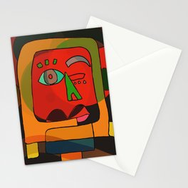Monsieur Neoexpressionism Stationery Cards