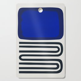 Out Of The Blue Cutting Board