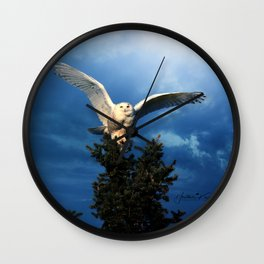 Visibly Superior Wall Clock