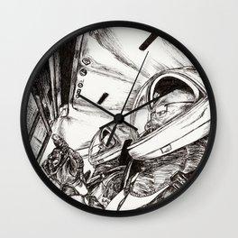 NASA SpaceX Crew Dragon Astronaut Rocket Launch Wall Clock