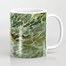 """The Mermaid in the Sea"" by Edmund Dulac Coffee Mug"